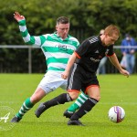 St Anthony's v Pollok in the Sectional League Cup Group game at McKenna Park on 15th August 2015